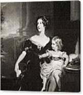 Harriet, Duchess Of Canvas Print