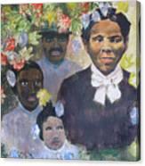 Harriet Tubman- Tears Of Joy Tears Of Sorrow Canvas Print
