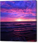 Harrington Beach Sunrise 3 Canvas Print