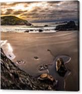 Harris Beach Sunset Canvas Print
