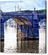 Harrisburg Pa - Market Street Bridge Canvas Print