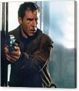 Harrison Ford As Rick Deckard A Blade Runner  In Blade Runner 1982 Canvas Print