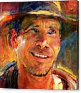 Harrison Ford Indiana Jones Portrait 3 Canvas Print