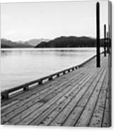 Harrison Lake Pier, Bc Canvas Print