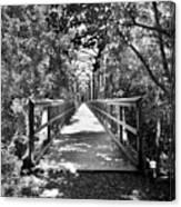 Harry Easterling Bridge Peak Sc Black And White Canvas Print