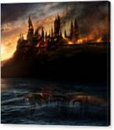Harry Potter And The Deathly Hallows Part I 2010  Canvas Print