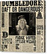 Harry Potter And The Half-blood Prince 2009 Canvas Print