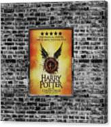 Harry Potter London Theatre Poster Canvas Print