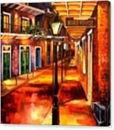 Harrys Corner New Orleans Canvas Print