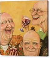 Harry's Lodge Meeting Canvas Print
