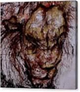 Harsh Canvas Print