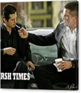 Harsh Times, Starring Christian Bale, Freddy Rodriguez And Eva Longoria Canvas Print