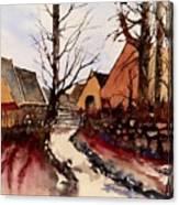 Harston Hall Canvas Print