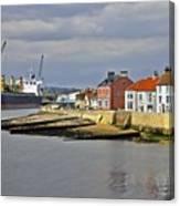Hartlepool Harbour Evening Canvas Print
