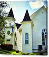 Hartsburg Baptist Church Canvas Print
