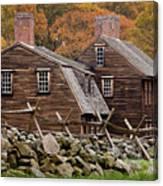 Hartwell Tarvern In Autumn Canvas Print
