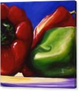 Harvest Festival Peppers Canvas Print
