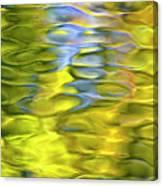 Harvest Gold Mosaic Canvas Print