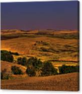 Harvested Fields Canvas Print