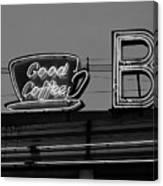 Hasbrouck Heights, Nj - Bendix Diner Canvas Print