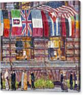 Hassam: Allied Flags, 1917 Canvas Print