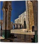 Hassan II Mosque  Canvas Print