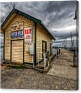 Hastings Jetty Canvas Print