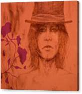 Hat Boy Canvas Print