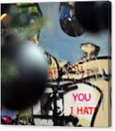 Hate You Canvas Print
