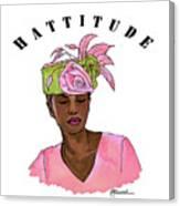 Hattitude #15 Canvas Print