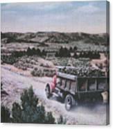 Hauling Uranium Ore 1952 Canvas Print