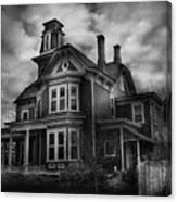 Haunted - Flemington Nj - Spooky Town Canvas Print
