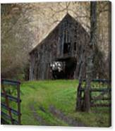 Haunted Barn Canvas Print