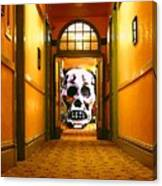 Haunted Hallway Canvas Print