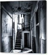 Haunted Hallway Canvas Print