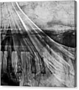Haunted Piano Canvas Print