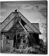 Haunted School House Canvas Print