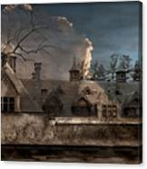 Haunted Stable Canvas Print