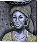 Hausa Maiden  Canvas Print