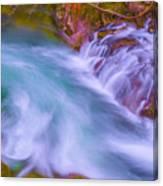 Torrent Waterfall 2 Canvas Print