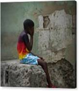 Havana Boy Canvas Print