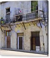 Havana City Apartments  Canvas Print