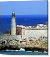 Havana Harbor Lighthouse Canvas Print