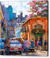 Havana In Bloom Canvas Print