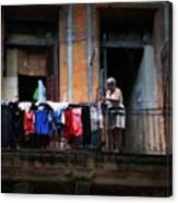 Havana Laundry No. 1 Canvas Print