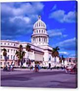 Havana National Capitol Canvas Print