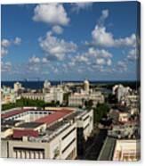 Havana Rooftops Canvas Print