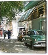 Havana Streets 1 Canvas Print