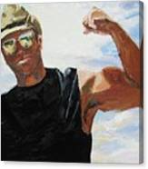 Have You Seen My Beachball Canvas Print