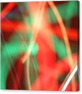 Have Yourself An Abstract Little Christmas Canvas Print